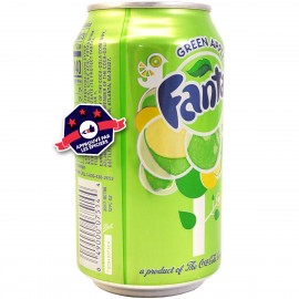 Fanta - Green Apple - 355ml
