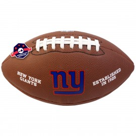 Ballon de Football Américain - NFL - N.Y. Giants