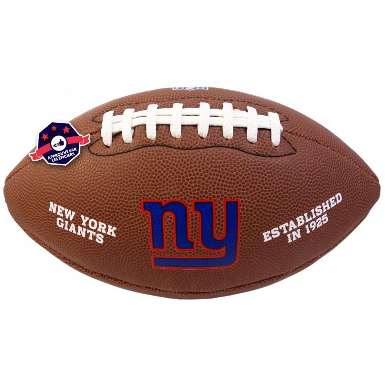Ballon de Football Américain - NFL - N.Y. Giants