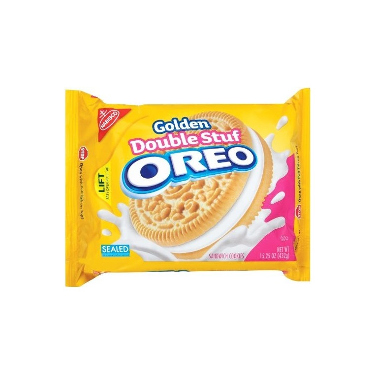 Golden Oreo Double Stuf - 432g