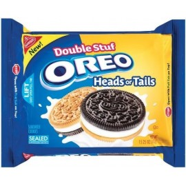Oreo Heads or Tails Double StuffCookies 15.25 OZ (432g)