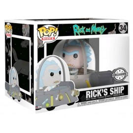 Pop! Rides - Rick's Ship - n°34