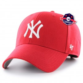 Casquette New York Rouge - '47