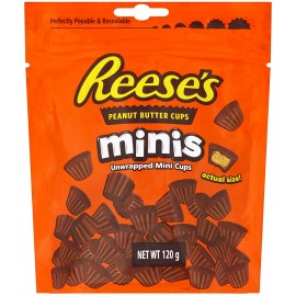 Reese's - Mini Peanut Butter Cups - 120g