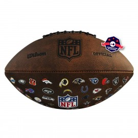 Ballon NFL édition Vintage - 32 Teams