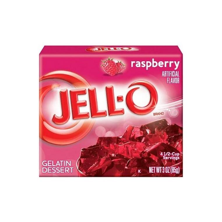 Jell-O à la framboise