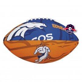 Ballon Broncos de Denver NFL - Taille Junior