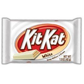 Kit kat au chocolat blanc
