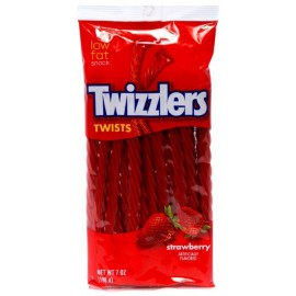 Paquet XL de Twizzlers Strawberry 198g
