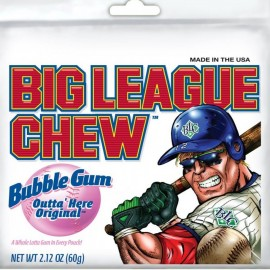 Chewing gums Big League Chew Original