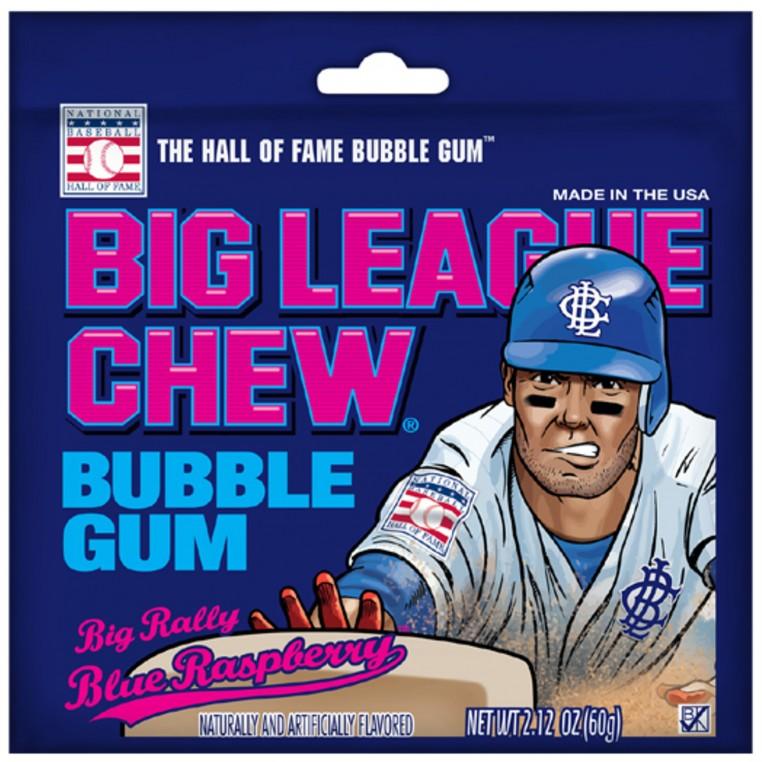 Chewing gum Big League Blue Raspberry