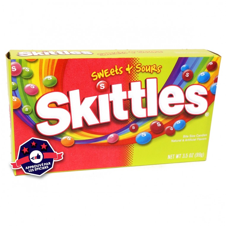 Skittles - Sweets & Sours