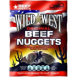Wild West Beef Jerky - Nuggets