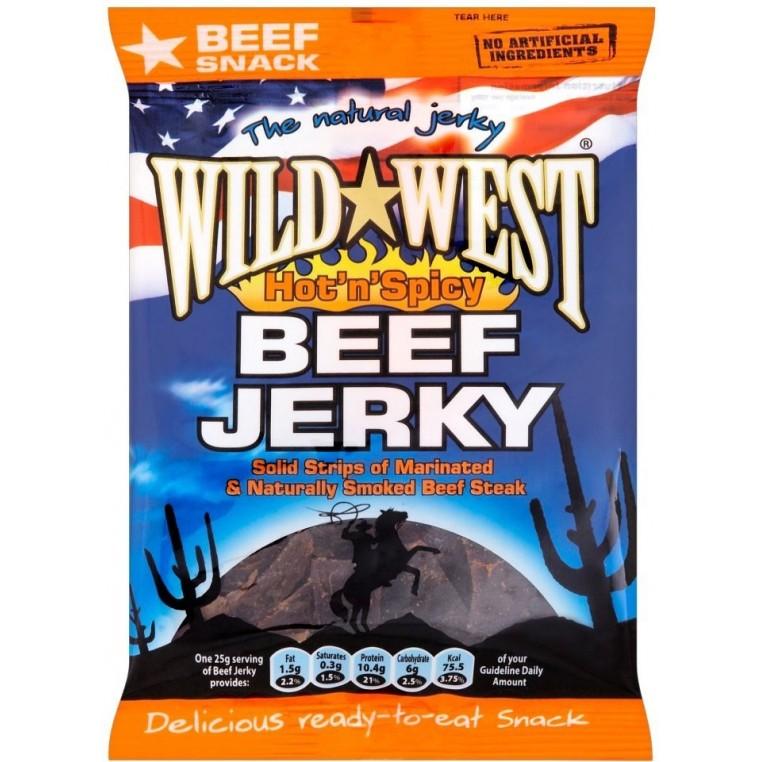 Wild West Beef Jerky - Hot 'n Spicy