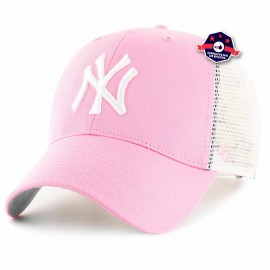 Casquette Trucker New York - Rose