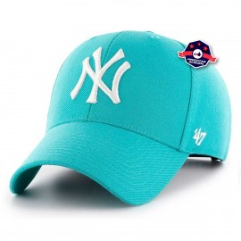 Casquette '47 - Yankees - Bleu Sarcelle