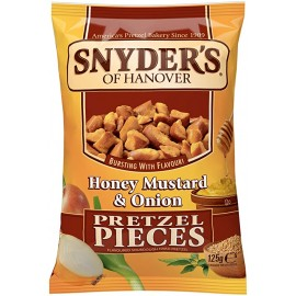 Snyder's - Honey Mustard Onion - Pretzel Pieces