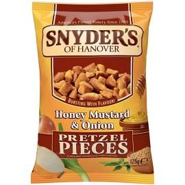 Snyder's - Honey Mustard Onion - Pretzel Pieces