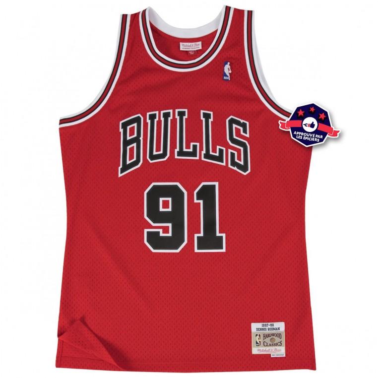 Maillot de Dennis Rodman aux Chicago Bulls