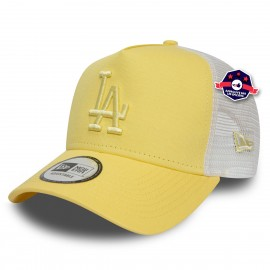 Trucker New Era - Los Angeles Dodgers - Jaune