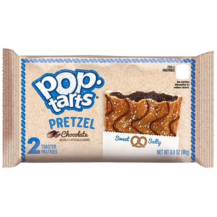 Pop Tarts - Pretzel Chocolate x2