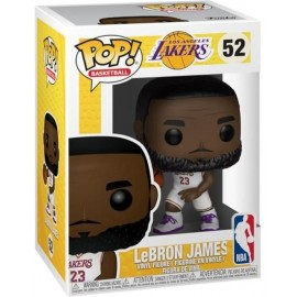 Funko Pop - LeBron James - Jersey Blanc