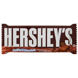 Plaque de chocolat Hersheys cookie & chocolate