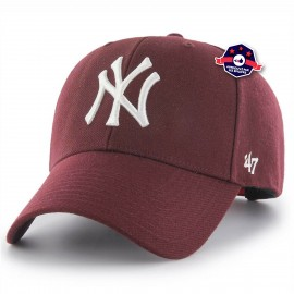 Snapback - Yankees - Bordeaux