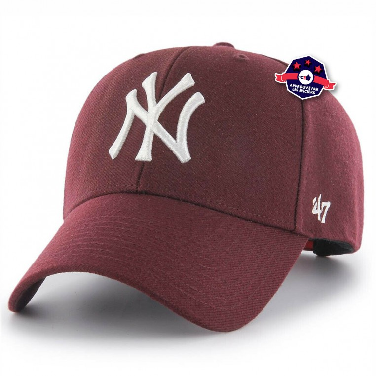 Snapback - Yankees - Bordeaux