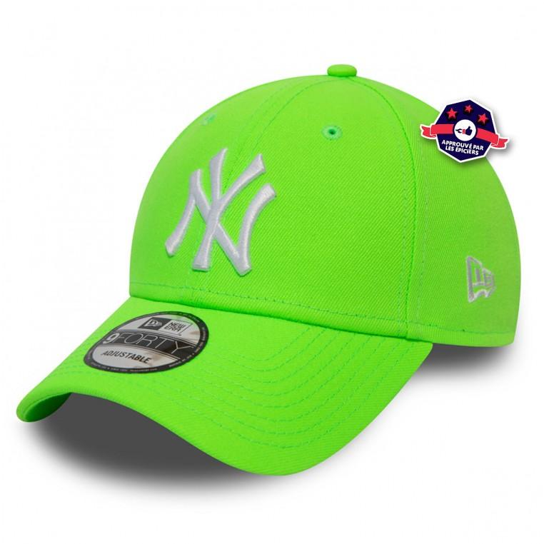 Casquette NY - Vert Fluo