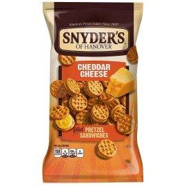 Snyder's - Pretzel Sandwiches Cheddar Cheese