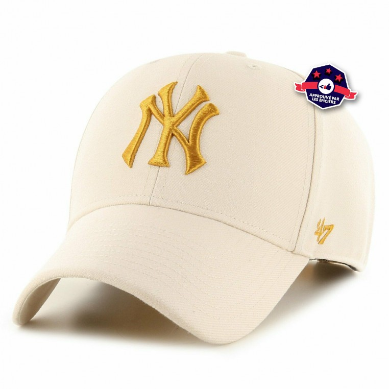 Casquette - Yankees - Natural