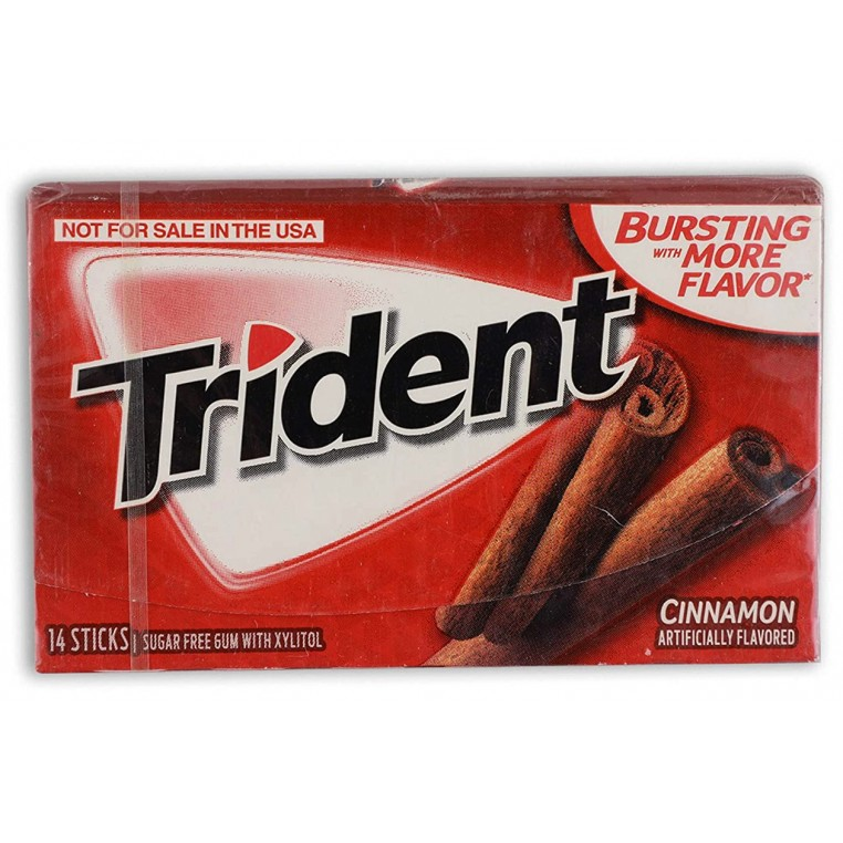 Chewing gums - Trident Cinnamon