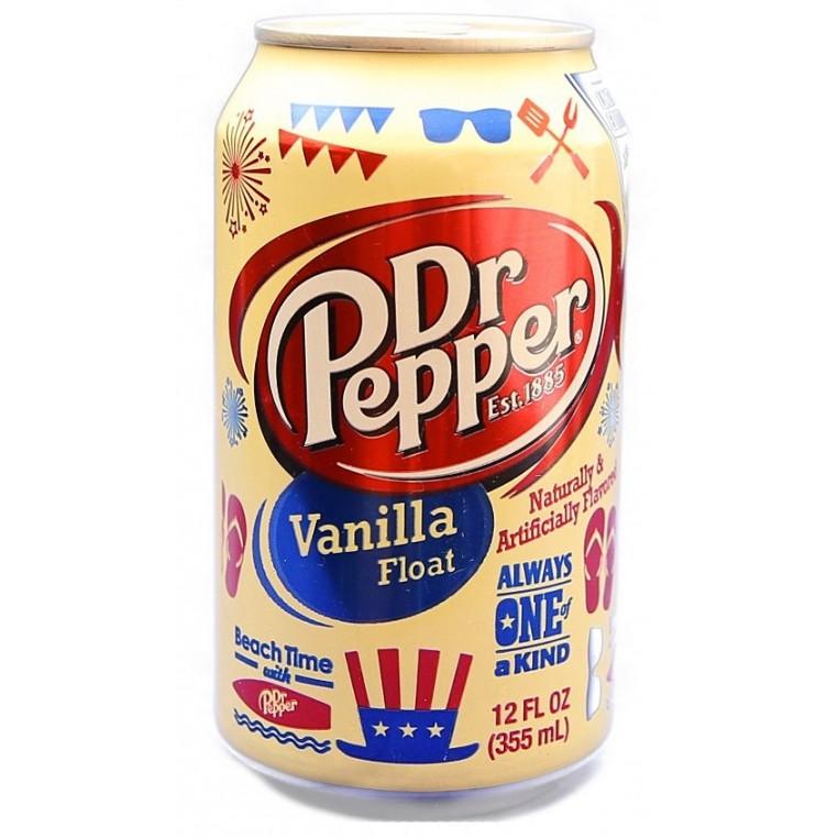 Dr Pepper vanilla float