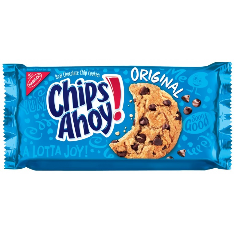 Cookies Chips Ahoy! - Chocolate Chip - Pack de 4