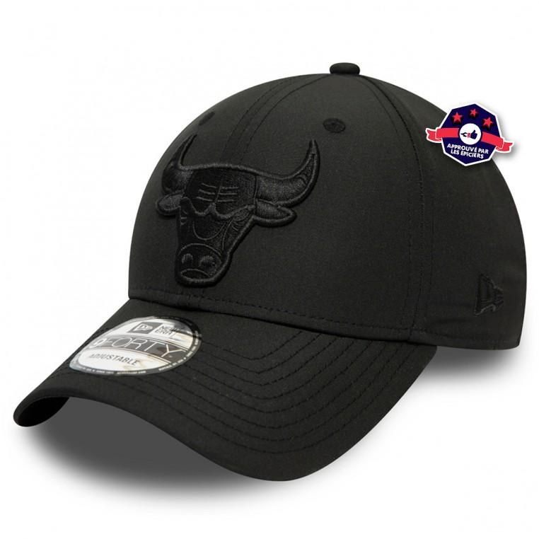 Casquette New Era Noire - Chicago Bulls