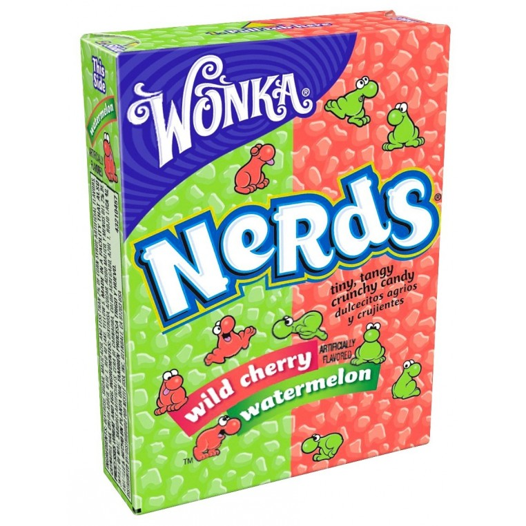 Nerds Watermelon & wild cherry - Willy Wonka