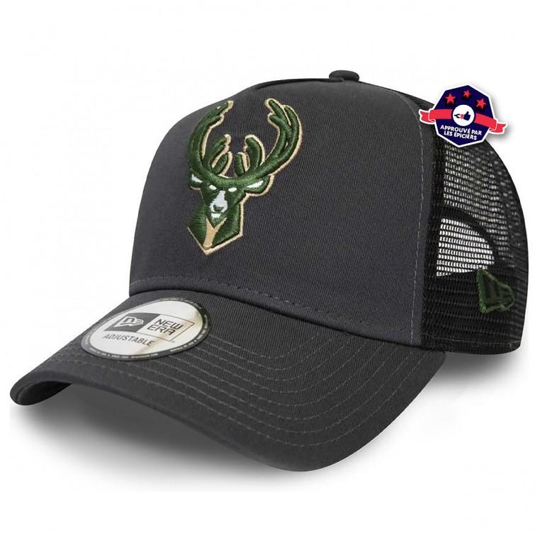 Casquette Trucker - Milwaukee Bucks - New Era