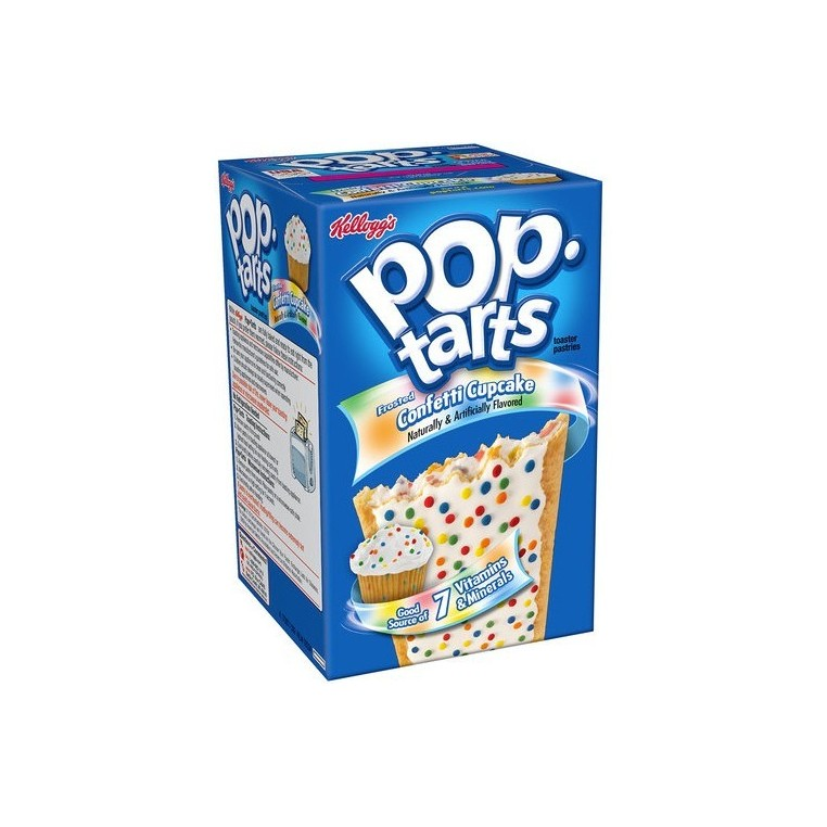 Pop Tarts Confetti Cupcake
