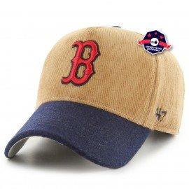 Casquette Red Sox en velours