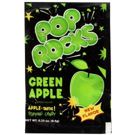 Pop Rocks à la Pomme