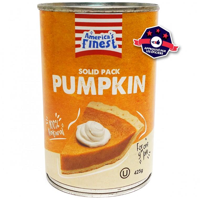 Purée de Citrouille - Pumpkin Pie Filling