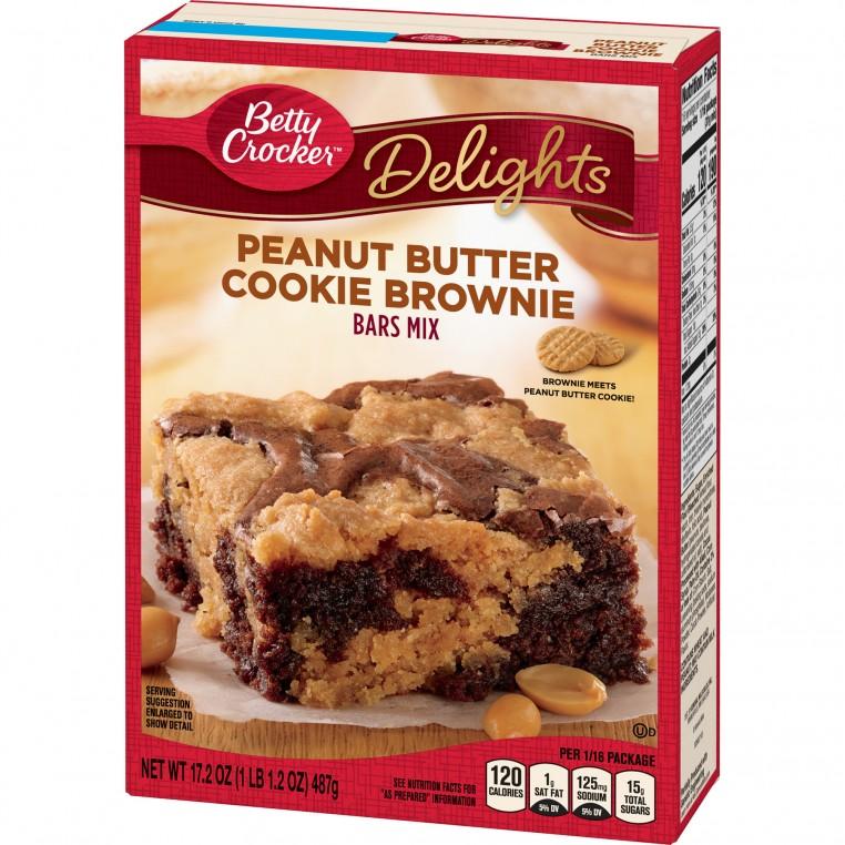 Mix pour Brownies au Beurre de Cacahuètes - Betty Crocker