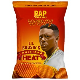 Rap Snacks - Louisiana Heat - Lil'Boosie