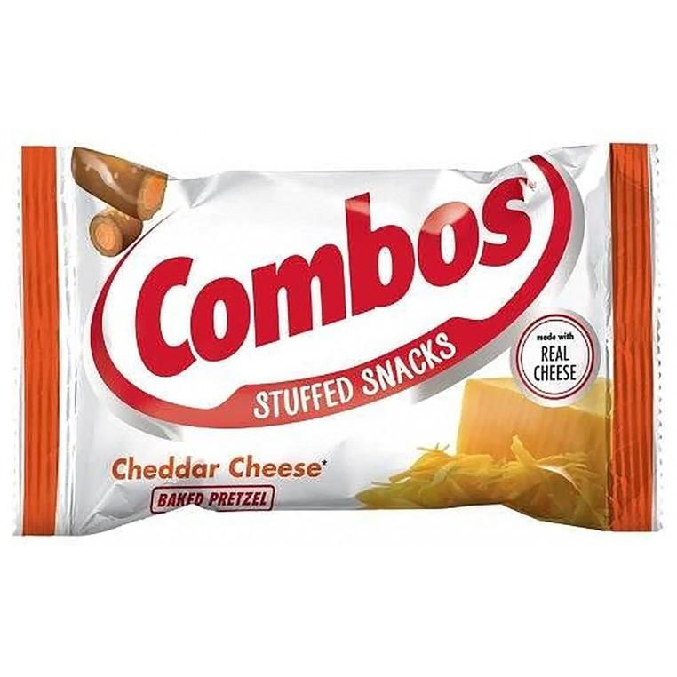 Crackers Combos Cheddar Pretzel - 51 Gr