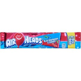 Airheads - Blue Raspberry & Cherry - Big Bar