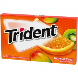Trident - Tropical Twist Gum