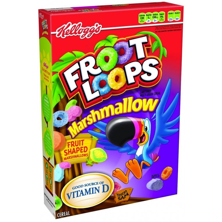 Céréales Froot Loops Marshmallow - 357g