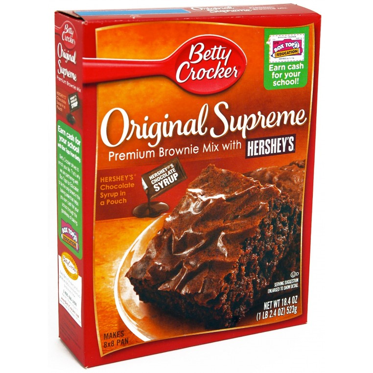 Betty Crocker Original Supreme Brownie Mix