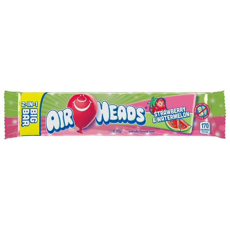 Airheads Big Bar - Strawberry / Watermelon
